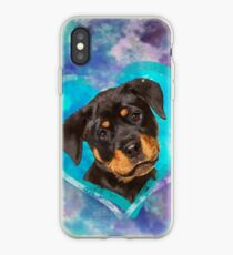 Adorable  Rottweiler  Puppy  iPhone Case