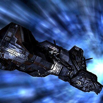 Lantean Warship 2 by CypherAT