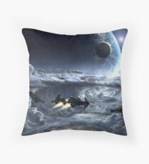 Carrack & Gladius Throw Pillow