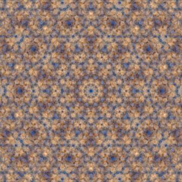 Fuzzy Mandala Soft Autumn Pattern by MarkUK97