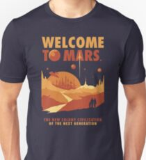 Welcome to Mars Unisex T-Shirt