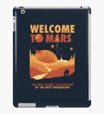 Welcome to Mars iPad Case/Skin