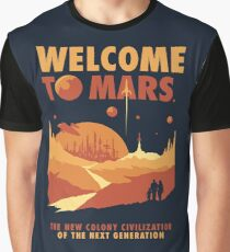 Welcome to Mars Graphic T-Shirt