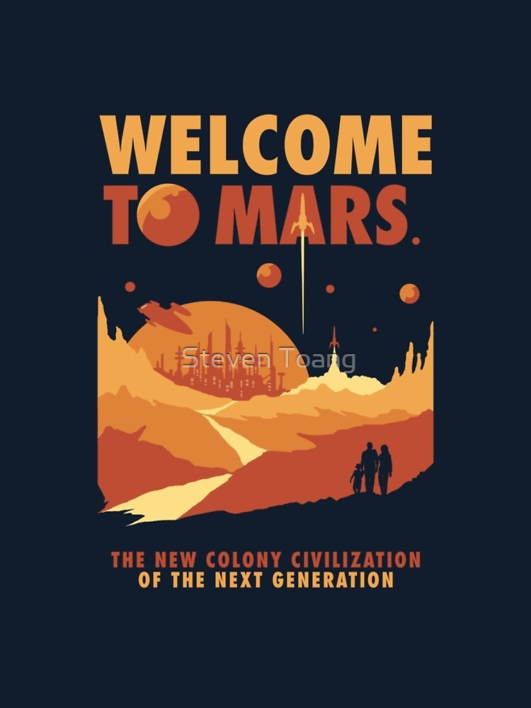 Welcome to Mars by Stevenmono