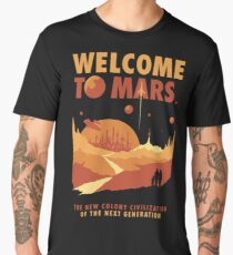 Welcome to Mars Men's Premium T-Shirt