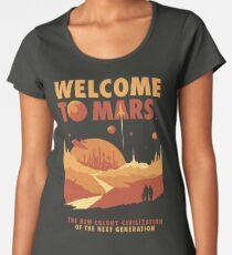 Welcome to Mars Women's Premium T-Shirt