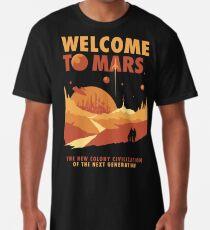 Willkommen auf dem Mars Longshirt