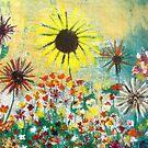 Field of Flowers by Noora Elkoussy by Noora Elkoussy