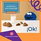 «¿Aceptas las cookies?» de alquimista