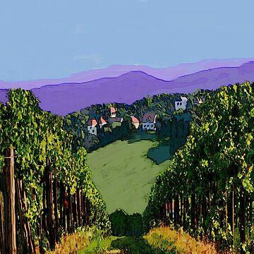 Vineyard View by kjhart8
