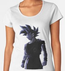 Camiseta premium para mujer Ultra Instinct Goku Mastered - Migatte No Gokui