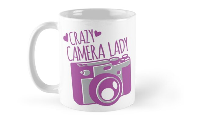 Crazy Camera Lady by jazzydevil