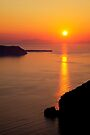 Santorini Sunset by Paul Thompson Photography