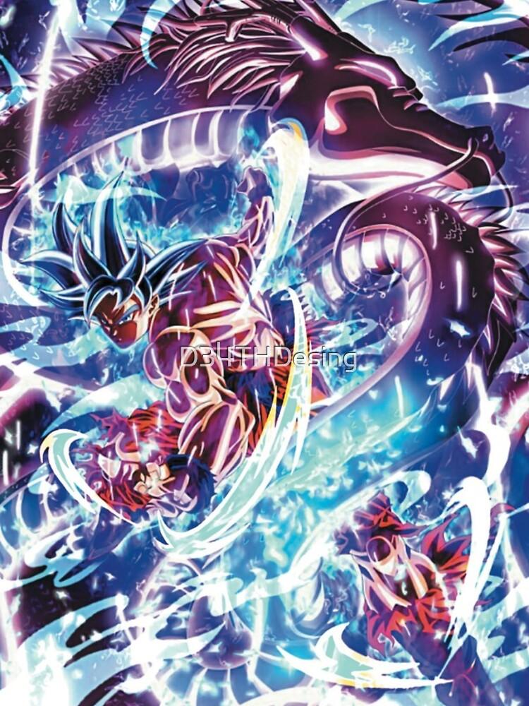 Ultra Instinct Goku beherrscht - Migatte No Gokui von D34THDesing