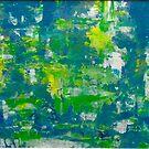 The Atlantic, Painting by Noora Elkoussy, 2018 by Noora Elkoussy