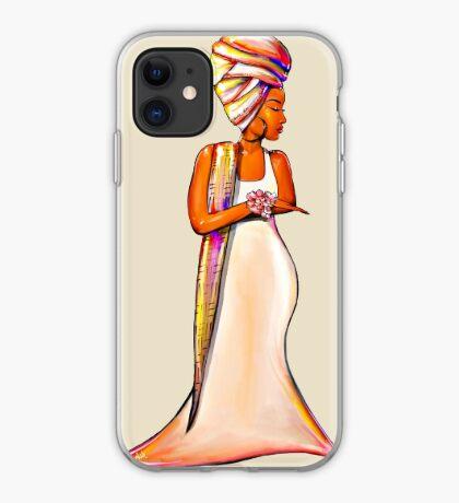 Queen In Us Women African Headwrap iPhone Case
