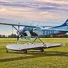 Cessna 182R Skylane Amphibian G-ESSL by Colin Smedley