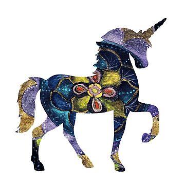 Magia Mandala Unicornio de Manitarka