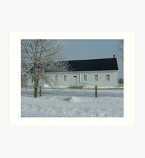St. Jacobs Mennonite Church Art Print