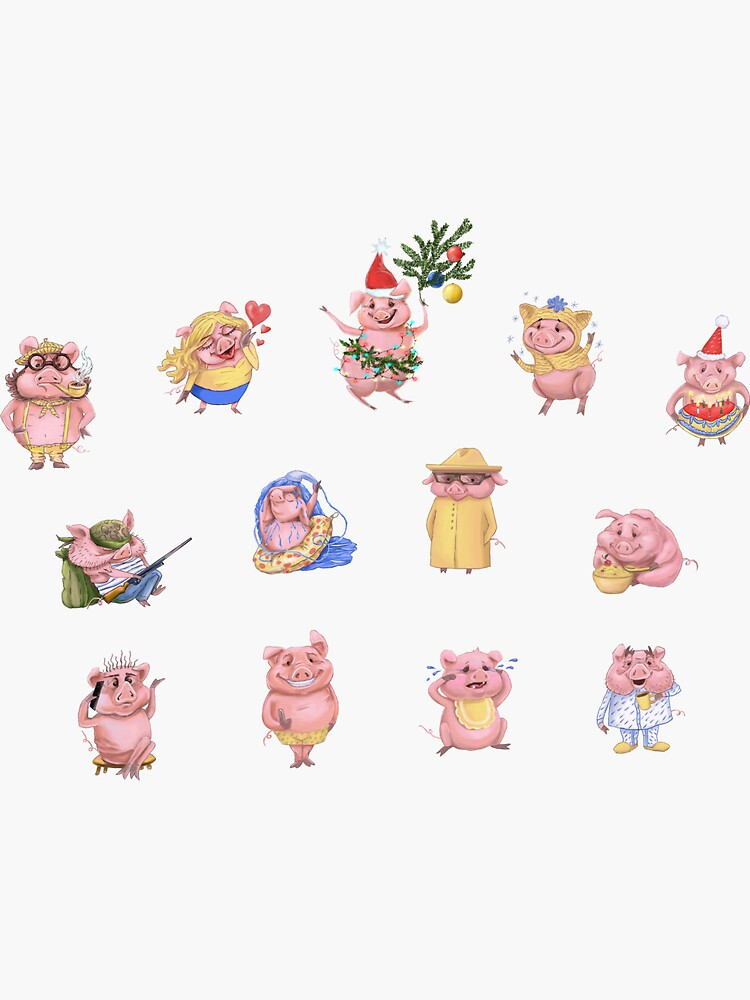 Pigs collection by Anthropolog