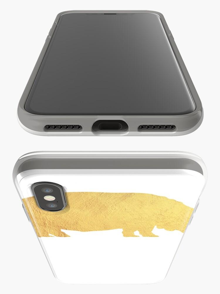 Alternative Ansicht von Hippo-Liebhaber - Hippo-Geschenk iPhone-Hülle & Cover