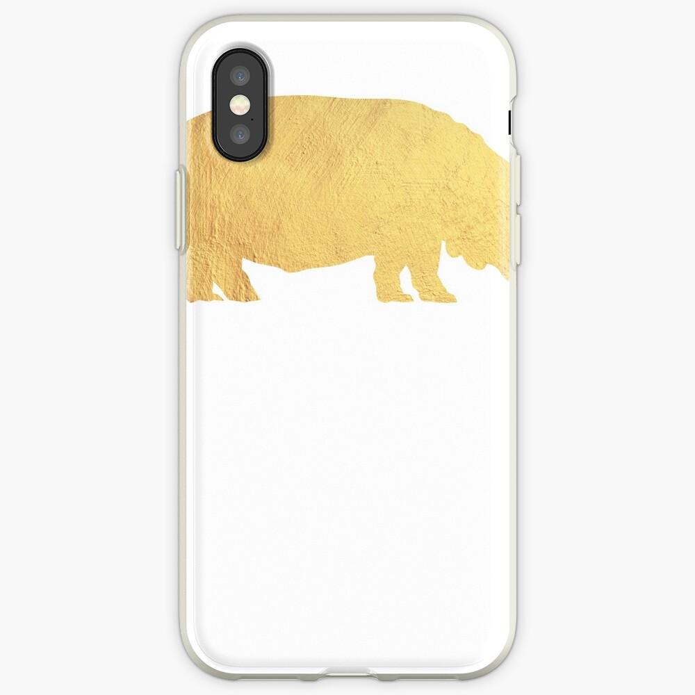 Hippo-Liebhaber - Hippo-Geschenk iPhone-Hülle & Cover