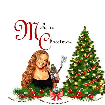 Meh'n Christmas Mariah by retropopdisco