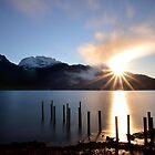 Sunrise at Lake Annecy by Imi Koetz