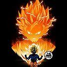 The Angry Super Saiyan by Dan Elijah Fajardo