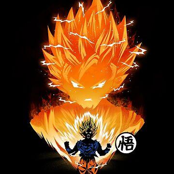 The Angry Super Saiyan by dandingeroz