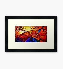 Crossing Paths Framed Print