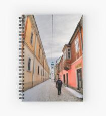 Narrow streets Spiral Notebook