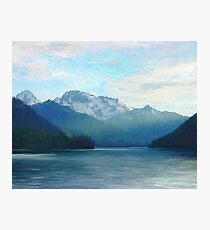 """Approaching Whistler  (2009)   - 45""""x36"""" max print size Photographic Print"""