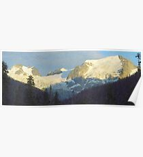 """Western Panorama  (2009)   - 52""""x20"""" max print size Poster"""