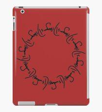 Circle of Dragons iPad Case/Skin