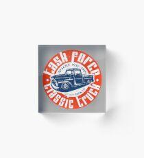Task Force Apache Classic Truck 1955 - 1959 Acrylblock