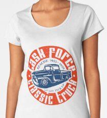 Task Force Apache Classic Truck 1955 - 1959 Premium Rundhals-Shirt