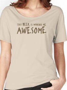 Beer Awesome Funny TShirt Epic T-shirt Humor Tees Cool Tee Women's Relaxed Fit T-Shirt