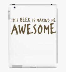 Beer Awesome Funny TShirt Epic T-shirt Humor Tees Cool Tee iPad Case/Skin