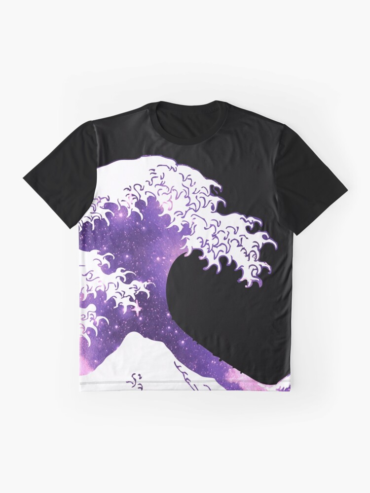 Alternative Ansicht von Große Welle Grafik T-Shirt