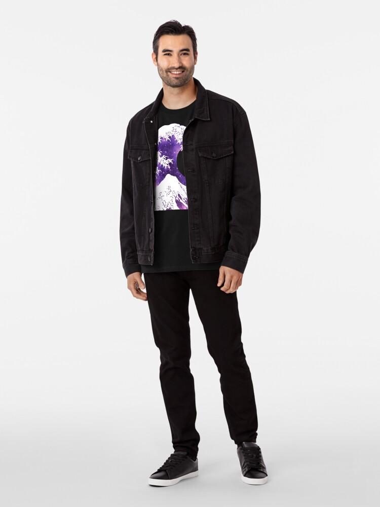 Alternative Ansicht von Große Welle Premium T-Shirt