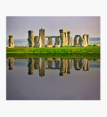 Incredible view of Stonehenge Photographic Print