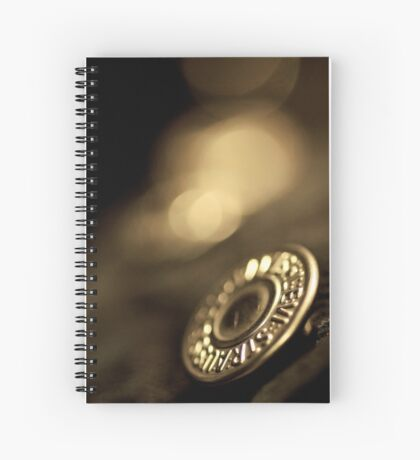 In my underpants, but briefly... Spiral Notebook
