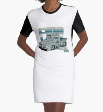 Ford F100 Truck Driver 1953 - 1956 T-Shirt Kleid