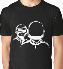 DAFT PUNK LOGO Graphic T-Shirt