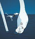Flamingo 1 DEEP BLUE SEA by Mirjam Griffioen
