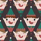 Santa's Little Helpers by lalainelim