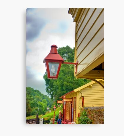 Station Lights Canvas Print