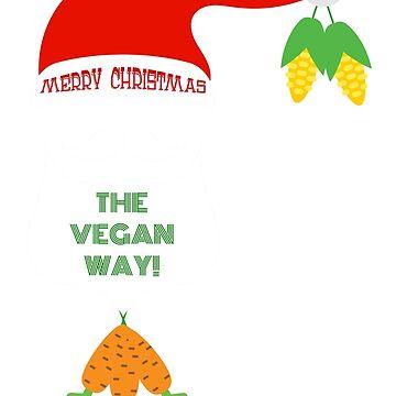 Merry Christmas - the Vegan way! by ViVedX