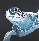 Turtle DEEP BLUE SEA by Mirjam Griffioen